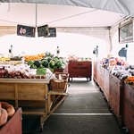 In the summer, Lepp Farm Market's produce section opens up under a tent out front
