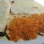 Enchiladas at Las Piramides Centerville