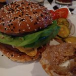 American Burger with Butter Lettuce. I can still taste it!