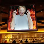 Entrance to Gordon Ramsay Burgr at Planet Hollywood Casino and Hotel