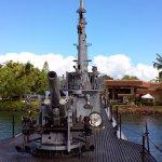 USS Bowfin Gun