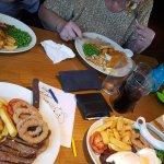 Mixed Grill, Sirloin, Gannon & Fish all lovely
