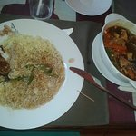 Good fresh  food, big portions