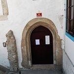 Locked entrance