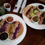 Fantastic shrimp tacos