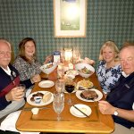 This is casual dining; no linen table cloths but great food and terrific, friendly service