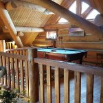 Pool table upstairs