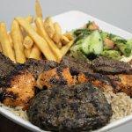 Combo Kabob Platter - Beef, Kafta, Chicken