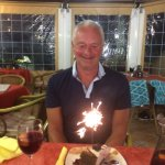 Great night at the Curry night and a nice  birthday surprise for Colin