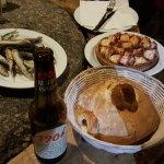 Pulpo y pescadito frito