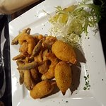 New food at the whitehorse Waterbeach. The arancini are amazing best outside Italy