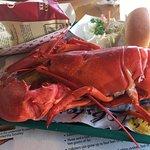 steamed lobster- soft shell