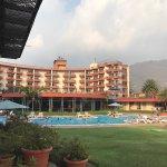 El mejor hotel de pana ubicado en el lago de atitlan en Guatemala las instalaciones excelentes t