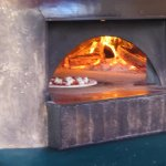 Flora wood burning pizza oven