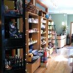 The spa shop!