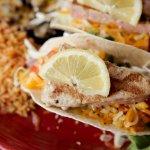 Our daily Tacos Pescado special w/ Ahi Tuna.