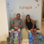 Fish Spa was very unique!!