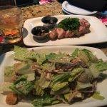 Great table side salad with ahi tuna!!!!