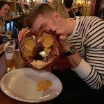 Ginormous pretzel