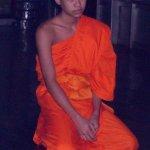 young monk at Wat Chom Si