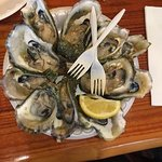 Fresh smoked salmon and Pine Island Pearl oysters...relish!