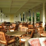 Veranda, area where breakfast is served. So peaceful!