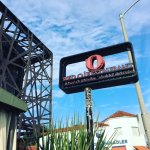 The Red O Mexican Restaurant on Melrose Avenue in Los Angeles.