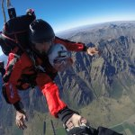 During freefall you can hold hands with the camera man and do a slow turn.Pretty amazing!