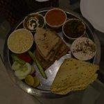 the vegetarian thali