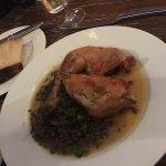 Guinea Fowl, Lentils, Mushrooms & Ramson