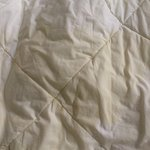 Stains on quilt