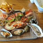 Seafood platter - highly recommended