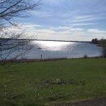 Draycote Water in the sunshine