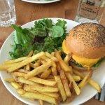 Veggie burger at Inglewood