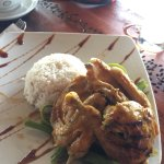 I would say.. try eat here.. it's delicious... i ate Taliwang chicken and Lobster Tom Yum.. and