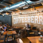 Inside view of the Coffeeberry wall.