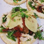 "Special of the day ""Chicken & tamarind pitas"""