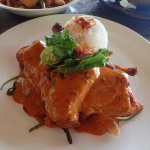 Lunch at the restaurant: Ayam Taliwang