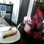 Irish cream Liquer charlotte, that smile says it all.