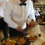 Servicio inmejorable, arroz delicioso