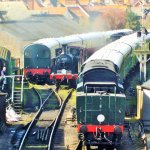 For steam railway enthusiasts,it does not get more exciting than this!