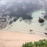 off of Melia hotel beach. less than one minute walk