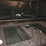 Spa with hot and cold Jacuzzi