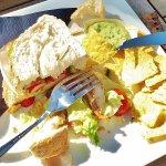 Club sandwich mety veel brood, en waarom zoveel nachos erbij?