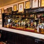 Bar at Crown and Trumpet Inn