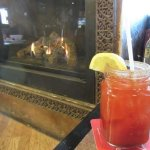 $5 Caesar by the fire! Excellent!