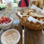 chips and wonderful dip!