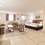 Executive room with King bed and kitchenette