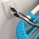 Plug with USB ports