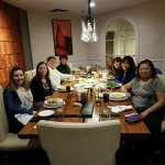 NEASEA Executive Board's first meal in private room
